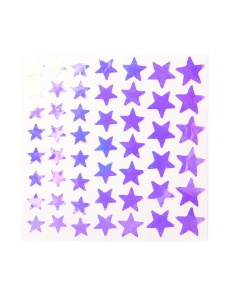 Dazzle Stars Face Lace