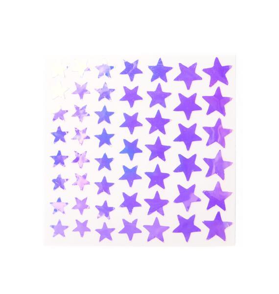 Face Lace Dazzle Stars Face Lace