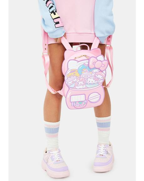 Hello Kitty Kawaii Machine Figural Backpack