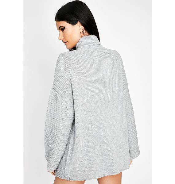 Dove Goin' Steady Knit Sweater