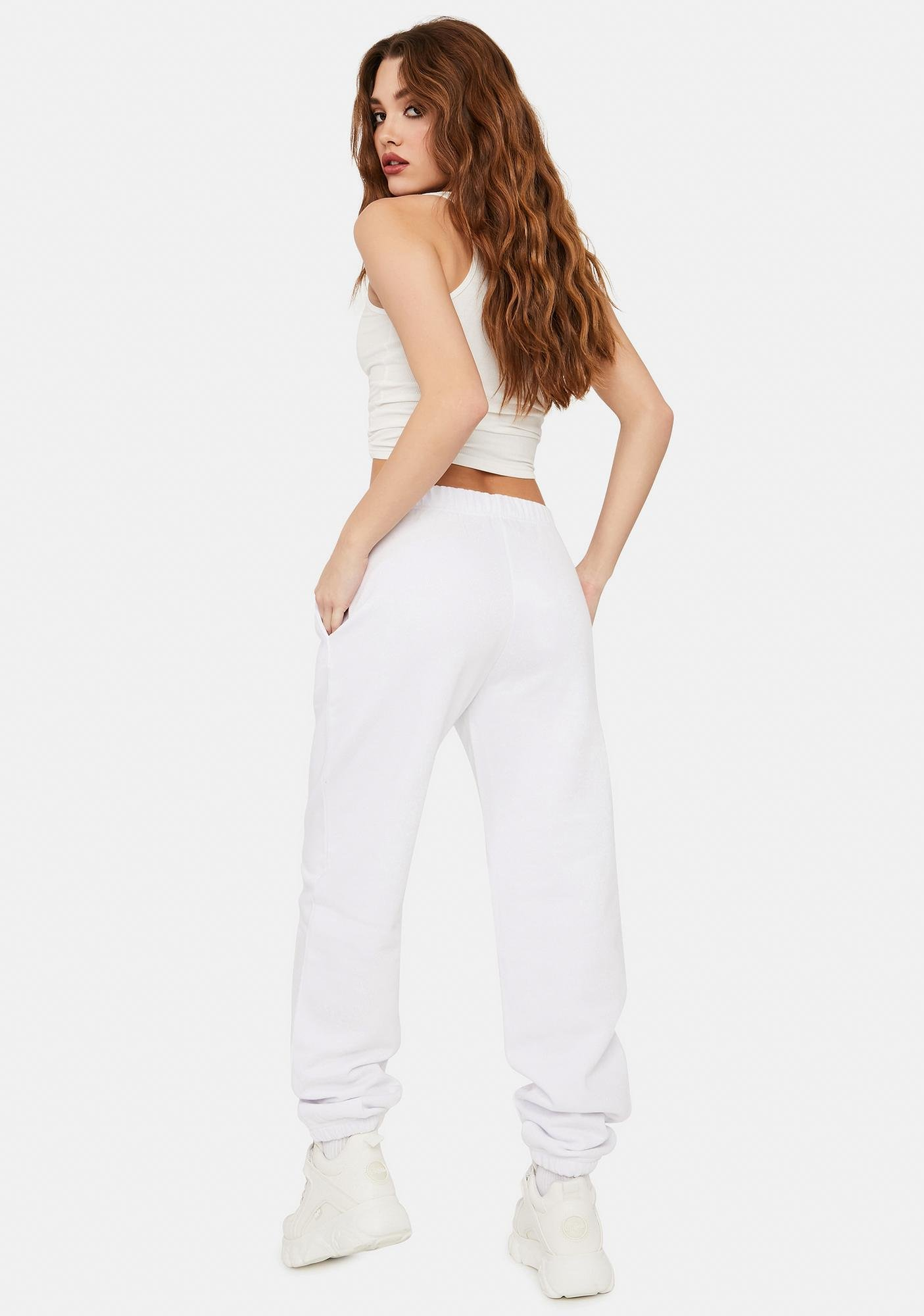 NEW GIRL ORDER Metallic Butterfly Joggers