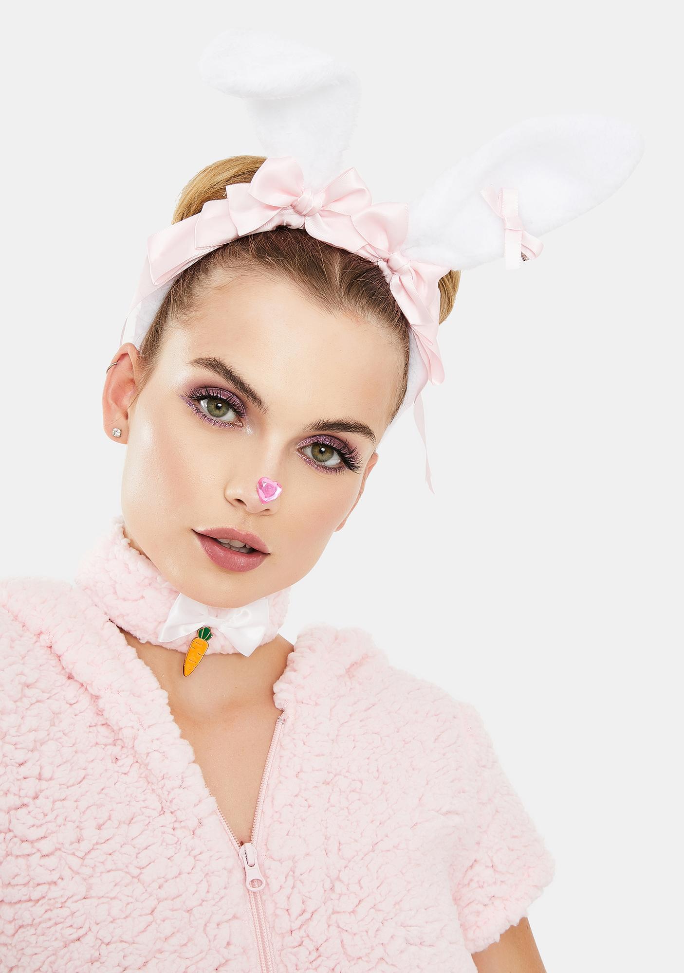 Fuzzy Wuzzy Bunny Ear Headband