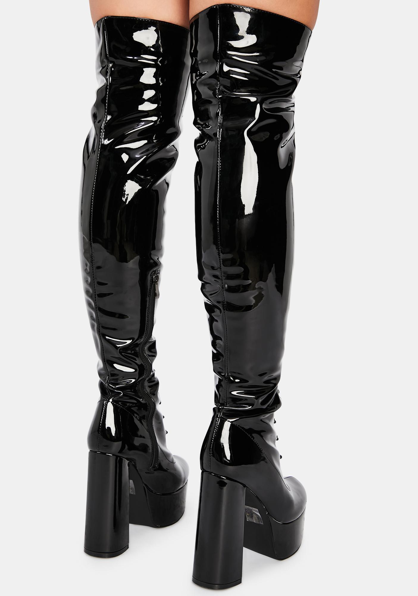 AZALEA WANG Philly Thigh High Boots