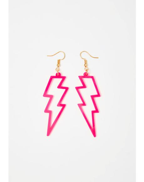 Baby Light Me Up Drop Earrings
