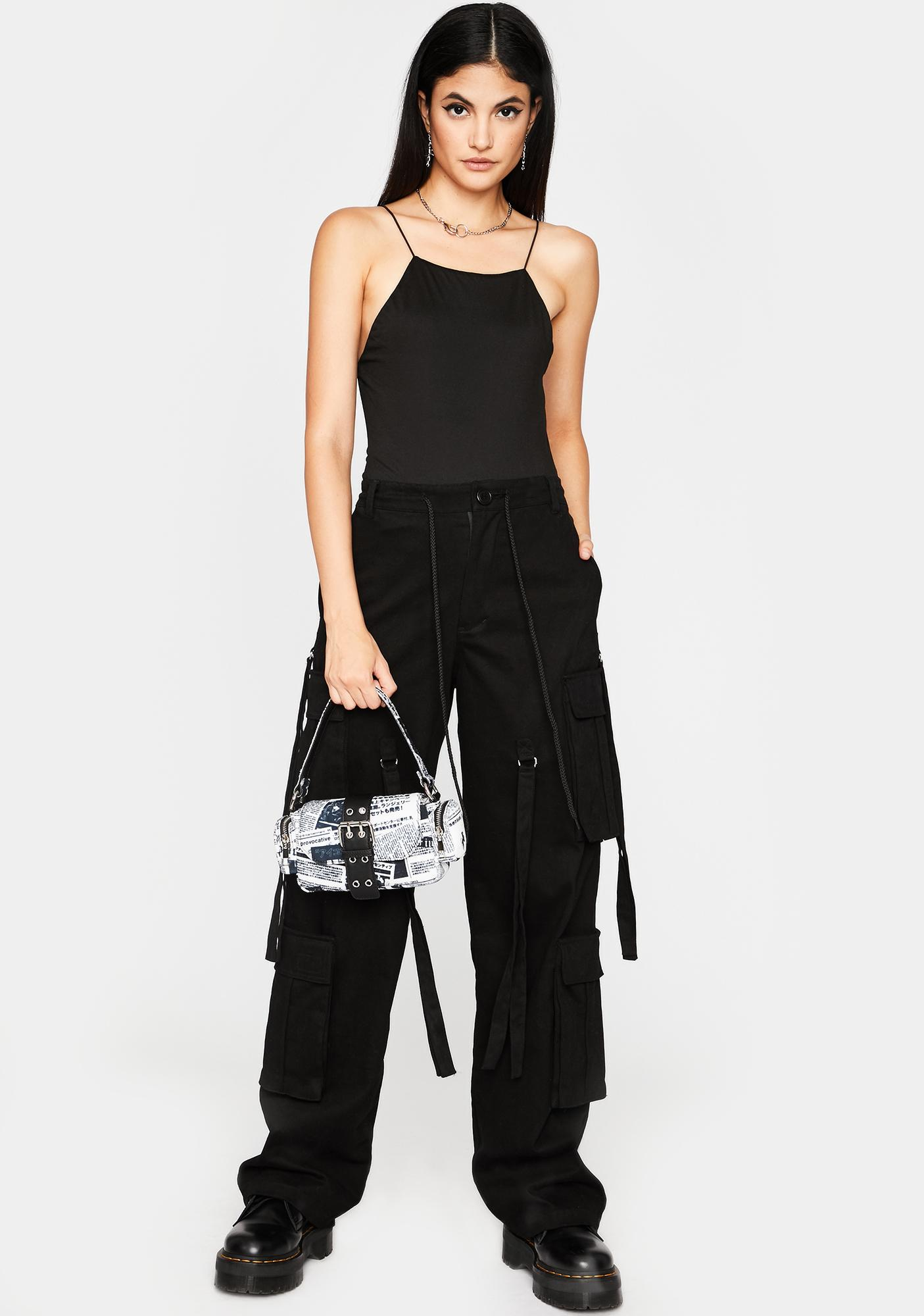 Dark Livin' Lit' Cami Bodysuit