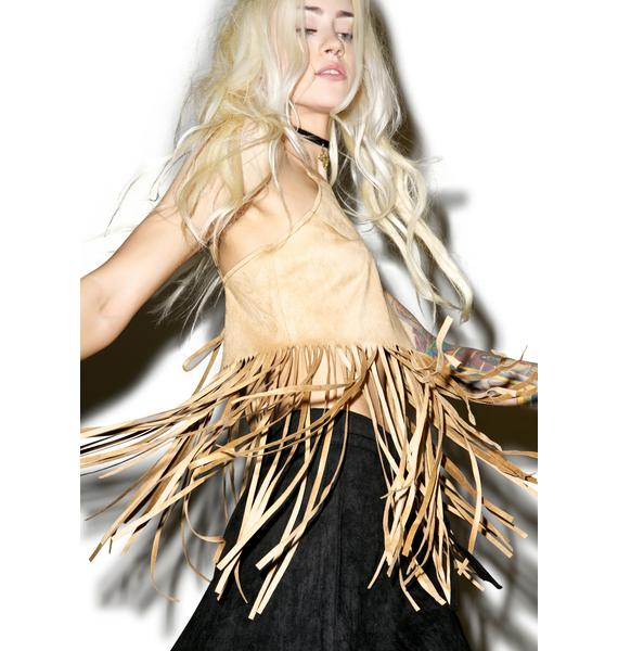 Genesis Fringe Crop Top