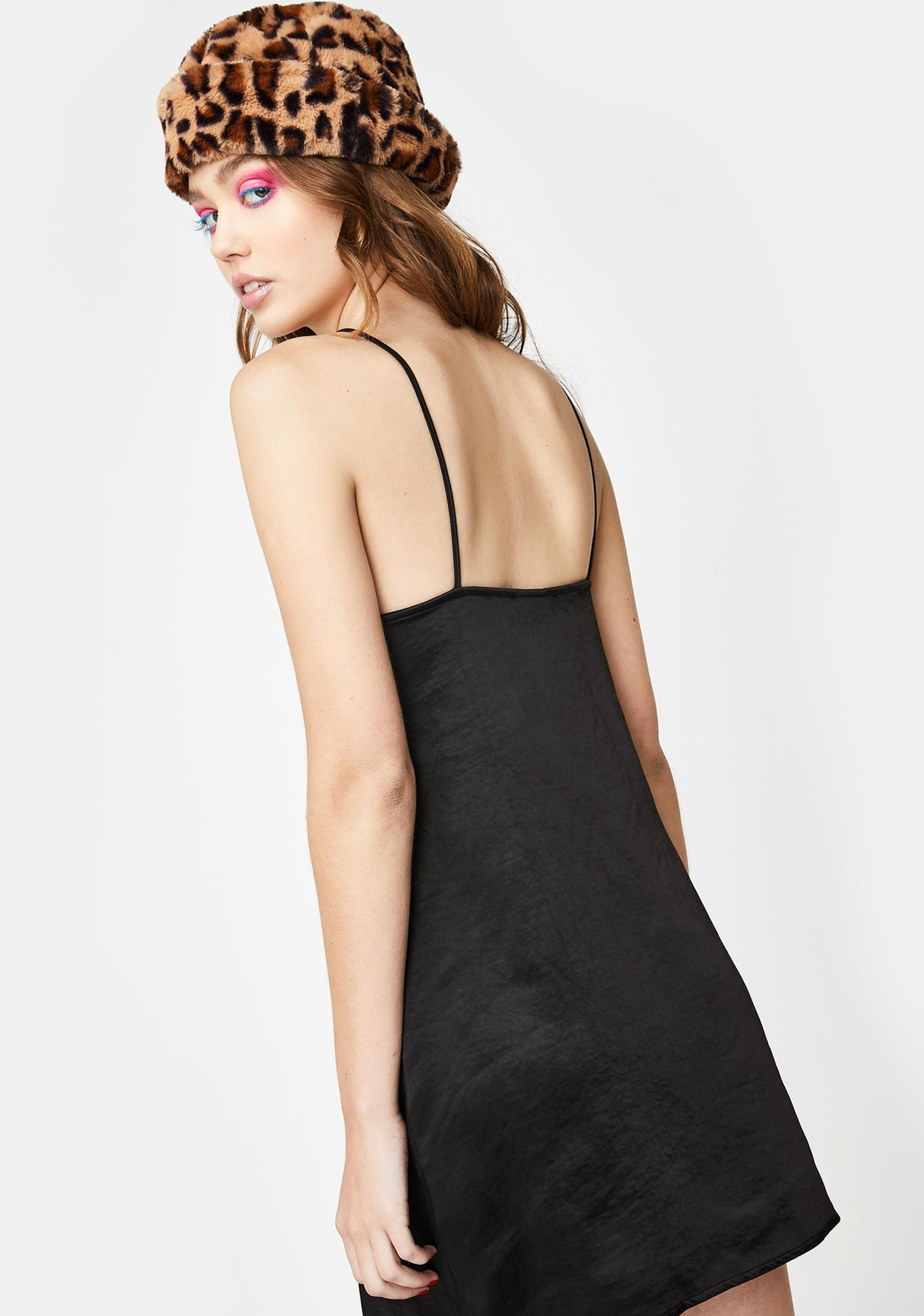 Motel Black Ronina Mini Dress