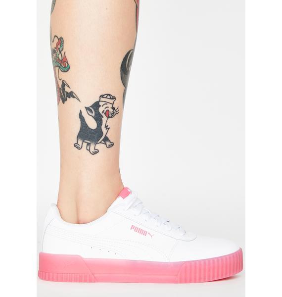 PUMA Bubblegum Carina Chrystal Sneakers