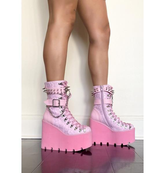 Sugar Thrillz Baby Traitor Boots