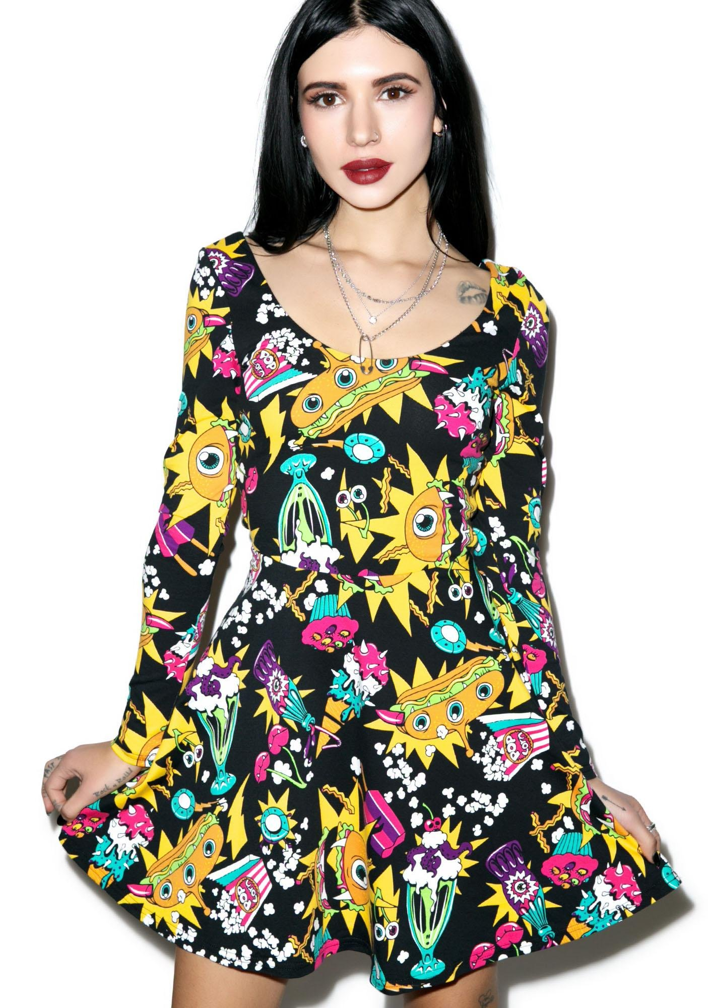 Iron Fist Killer Munchies Dress