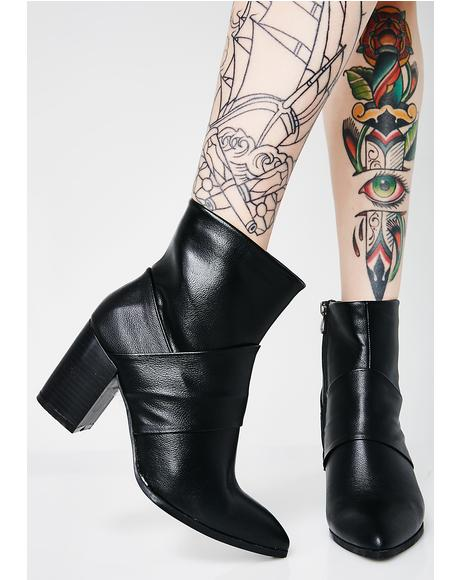 Asking For It Ankle Boots