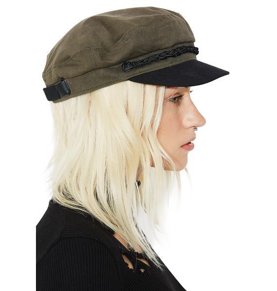 Obey Olive Jaxon Hat