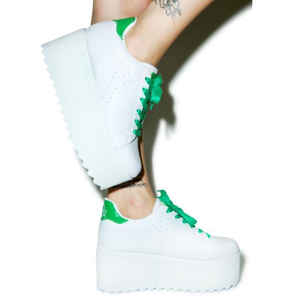 Y.R.U. Sporty Lala Platform Sneakers