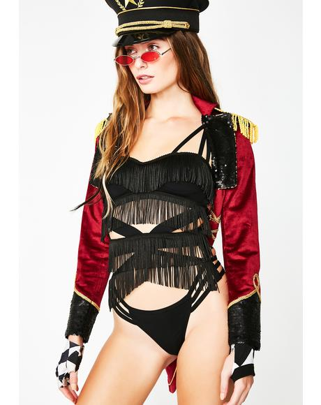 Stop The Show Strappy Bodysuit