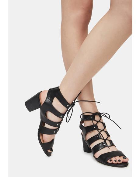 Eden Studded Heels