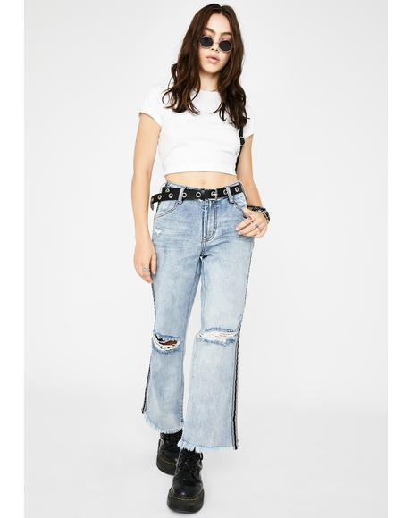 Montana Tuxedo Stripe Libertines Jeans