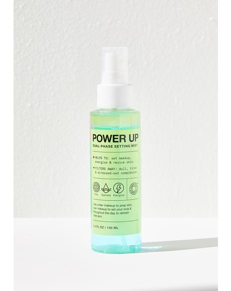 Power Up Dual Phase Face Mist