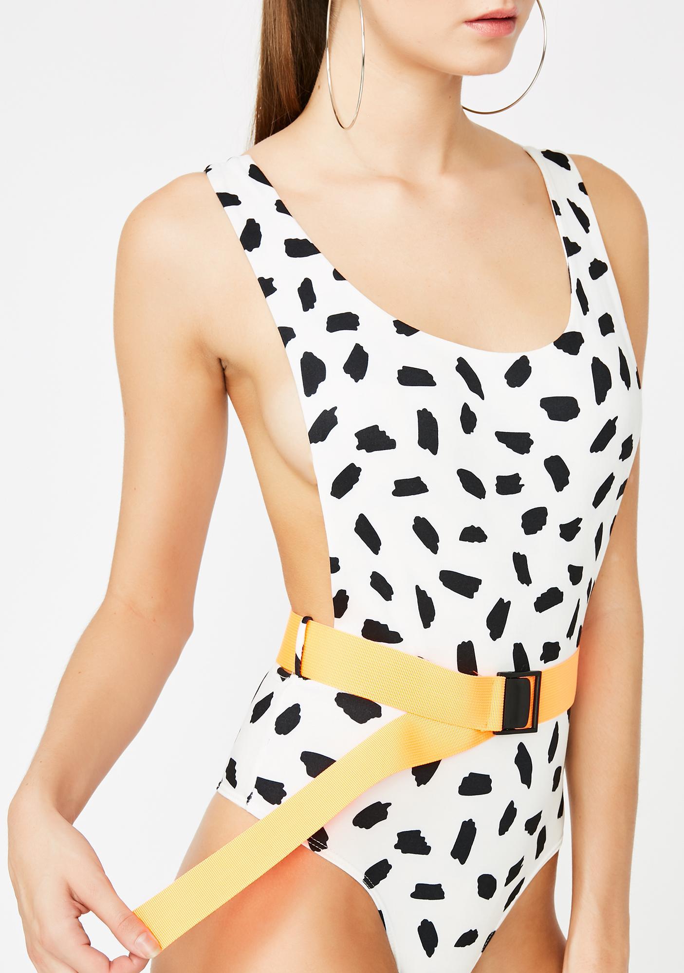 Hotspot Belted Bodysuit