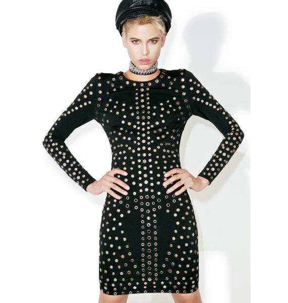 Meltin' Point Bodycon Dress