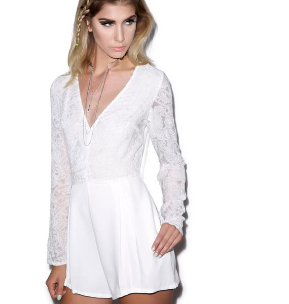 Mink Pink First Glance Playsuit