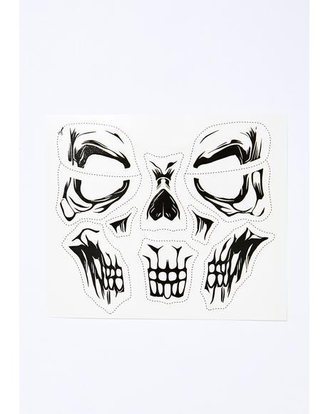 Freak Nite Skull Tattoo