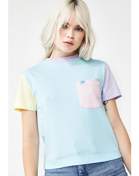 x Studio Arhoj Colour Block Fitted Tee