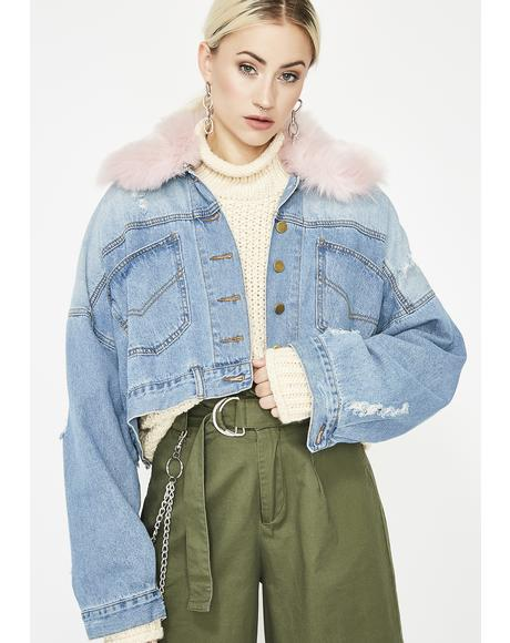 Kawaii Cutie Denim Jacket