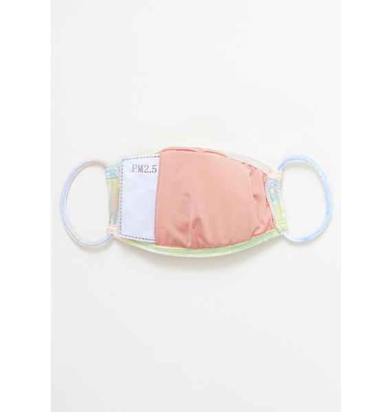 Dippin' Daisy's Candy Tie Dye Velvet Face Mask