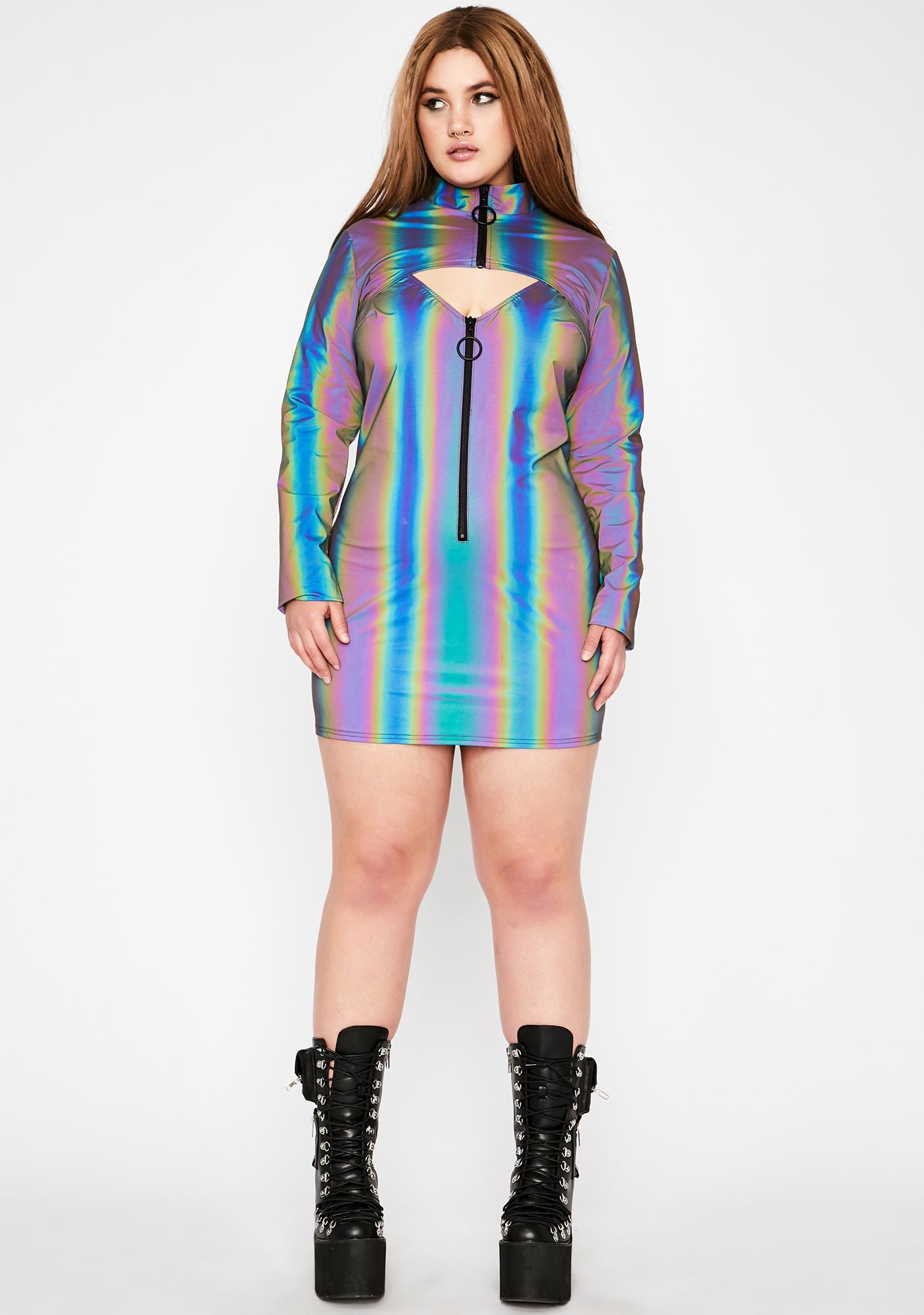 Club Exx High Spectral Frequency Reflective Shrug