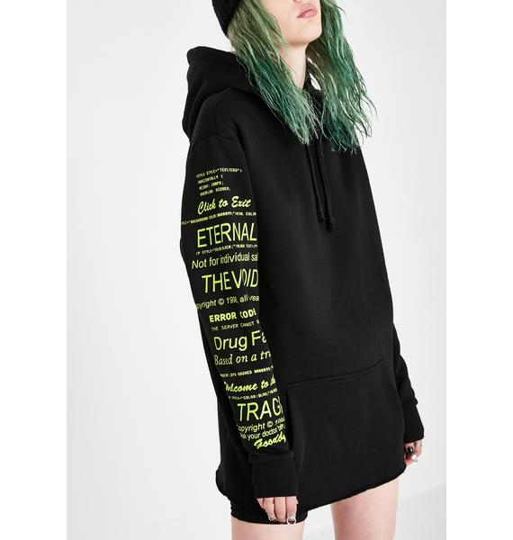 Current Mood Deep Web Pullover Hoodie
