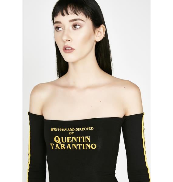 O Mighty A Film By Quentin Off The Shoulder Dress