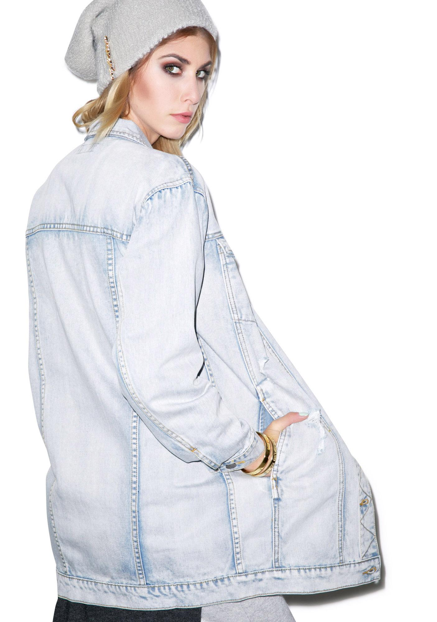Evil Twin Bricklane Longline Denim Jacket