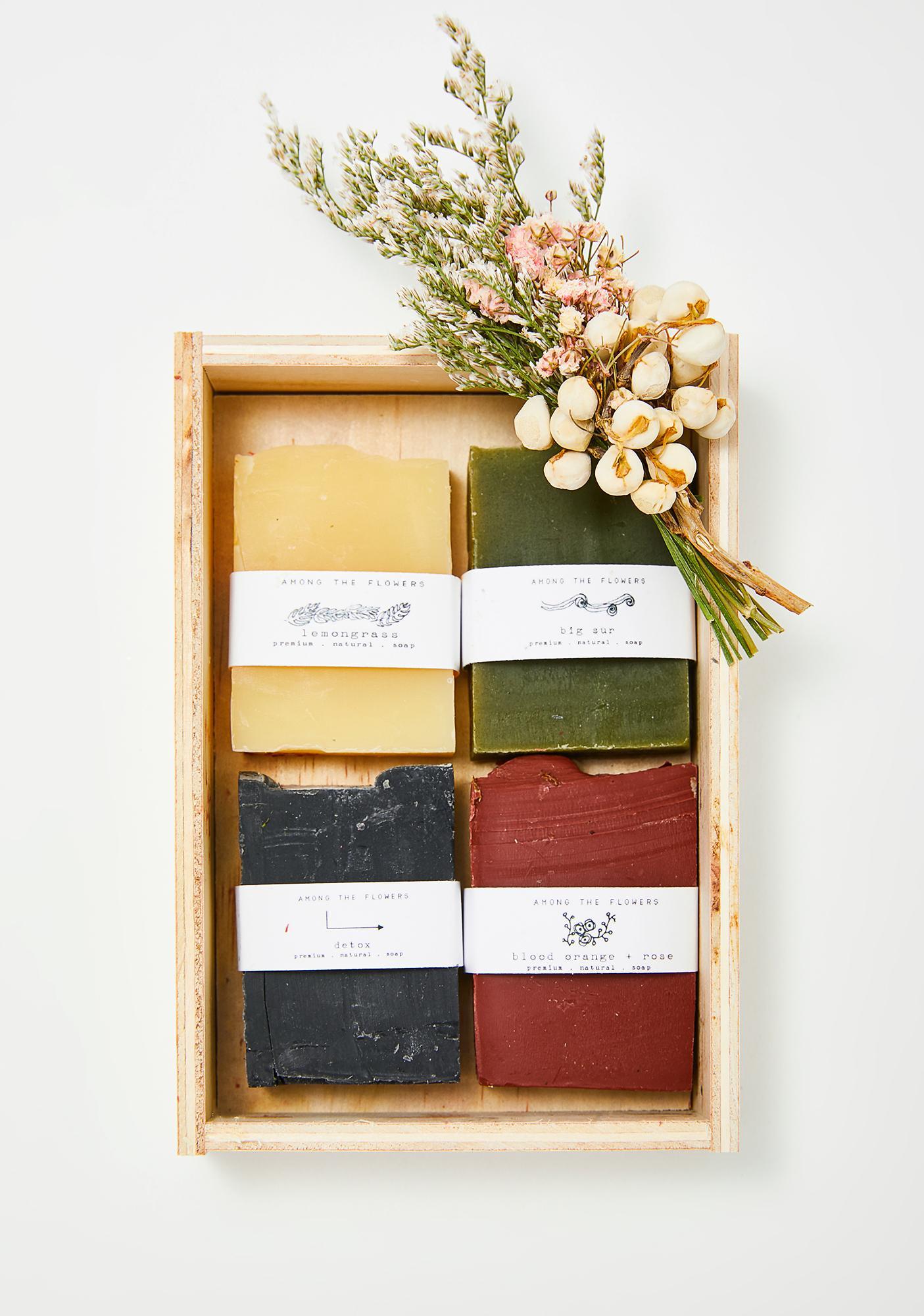 Among The Flowers Soap Sampler Set