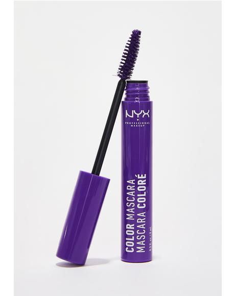 Purple Color Mascara
