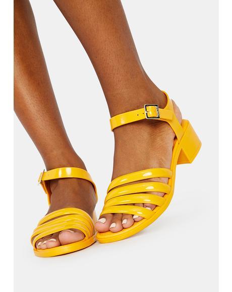 Sunny York Jelly Sandals