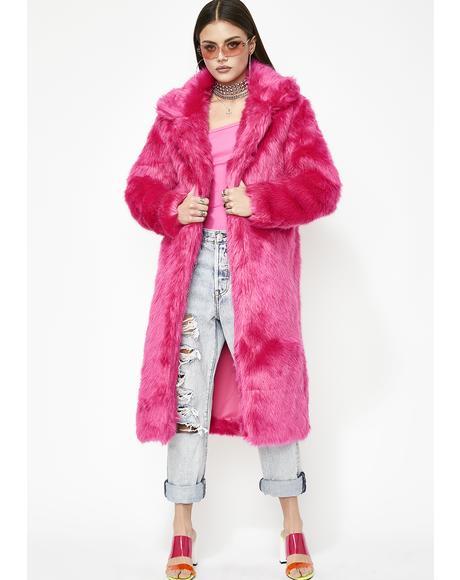Mz. Yung Lavish Longline Coat