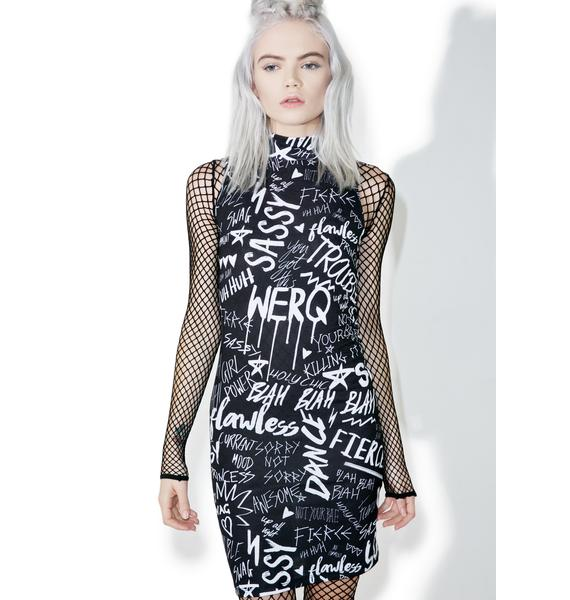 Jaded London Get Confident Mini Dress