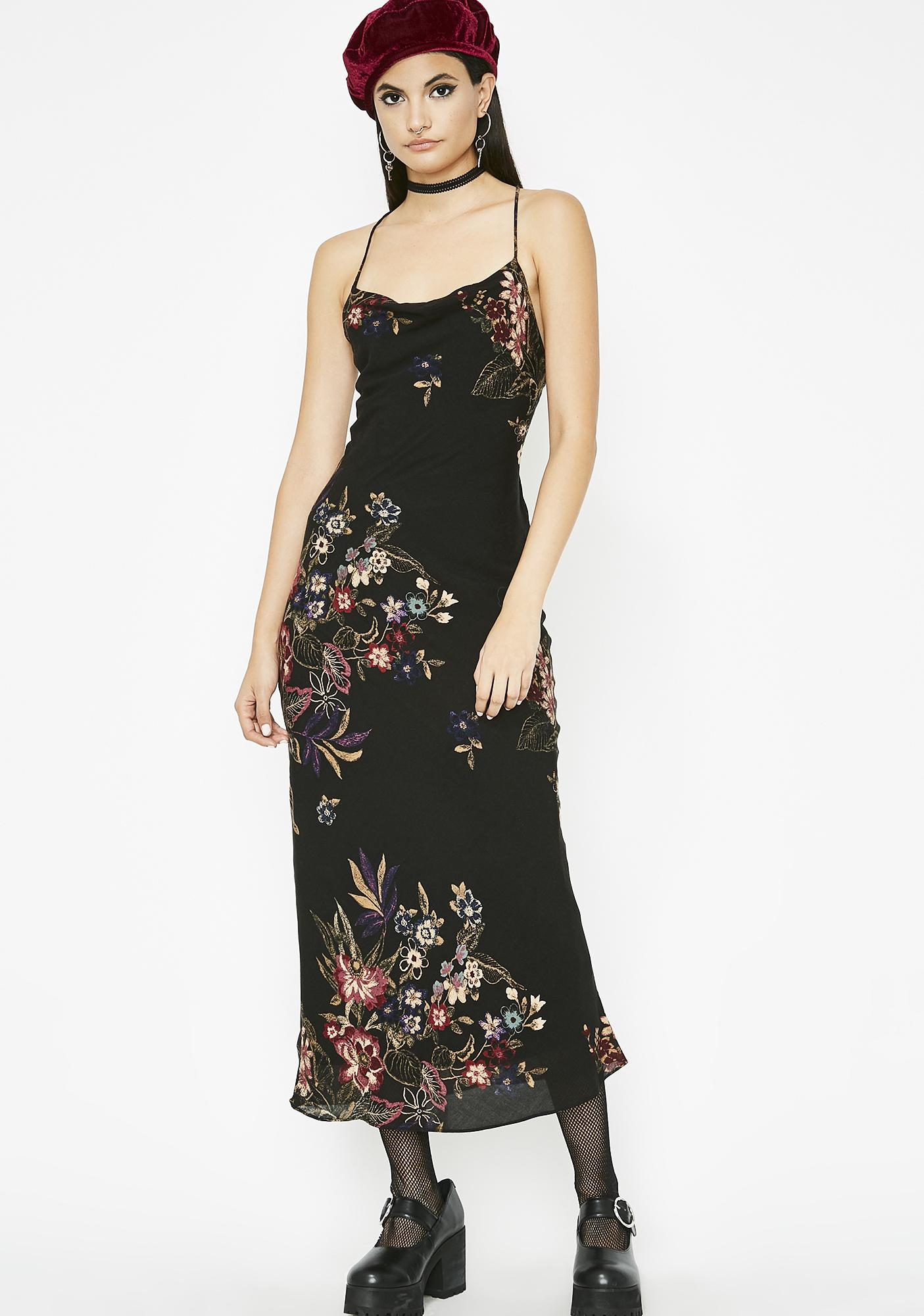 Flowering Orchid Midi Dress eaac6510f