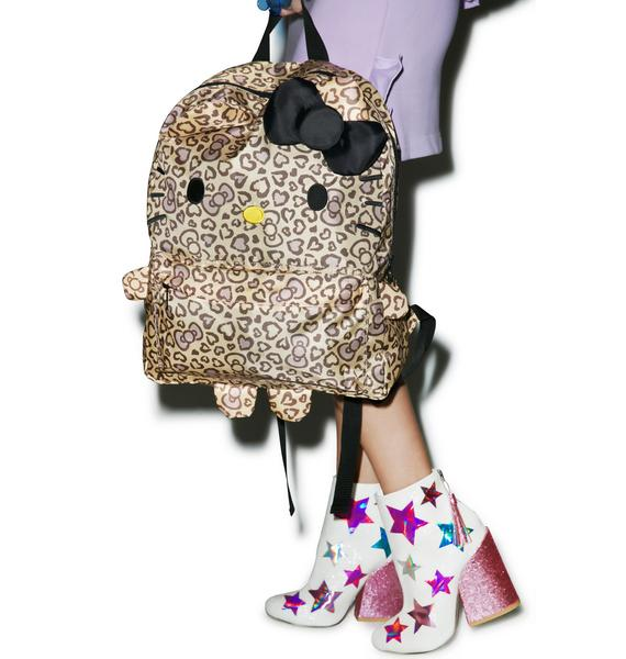 Sanrio Hello Kitty Leopard Backpack