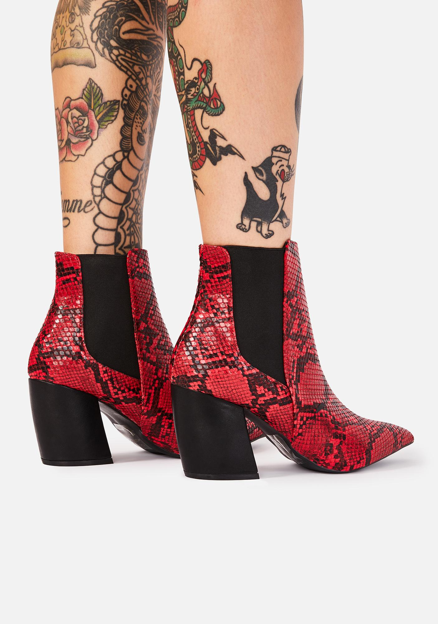 Born Fierce Ankle Boots