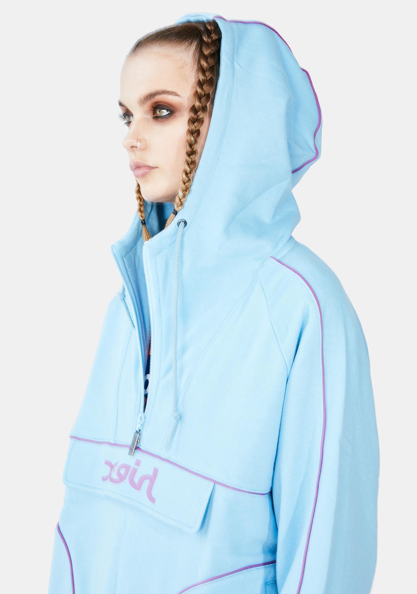 x-Girl Sweat Anorak