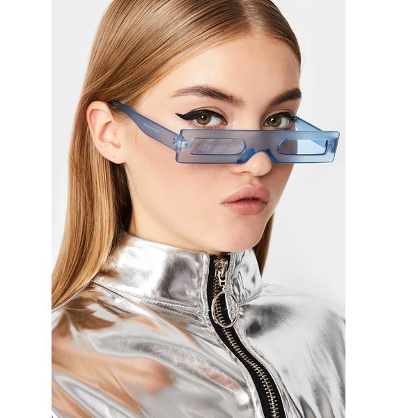 Luxury Legacy Rectangle Sunglasses