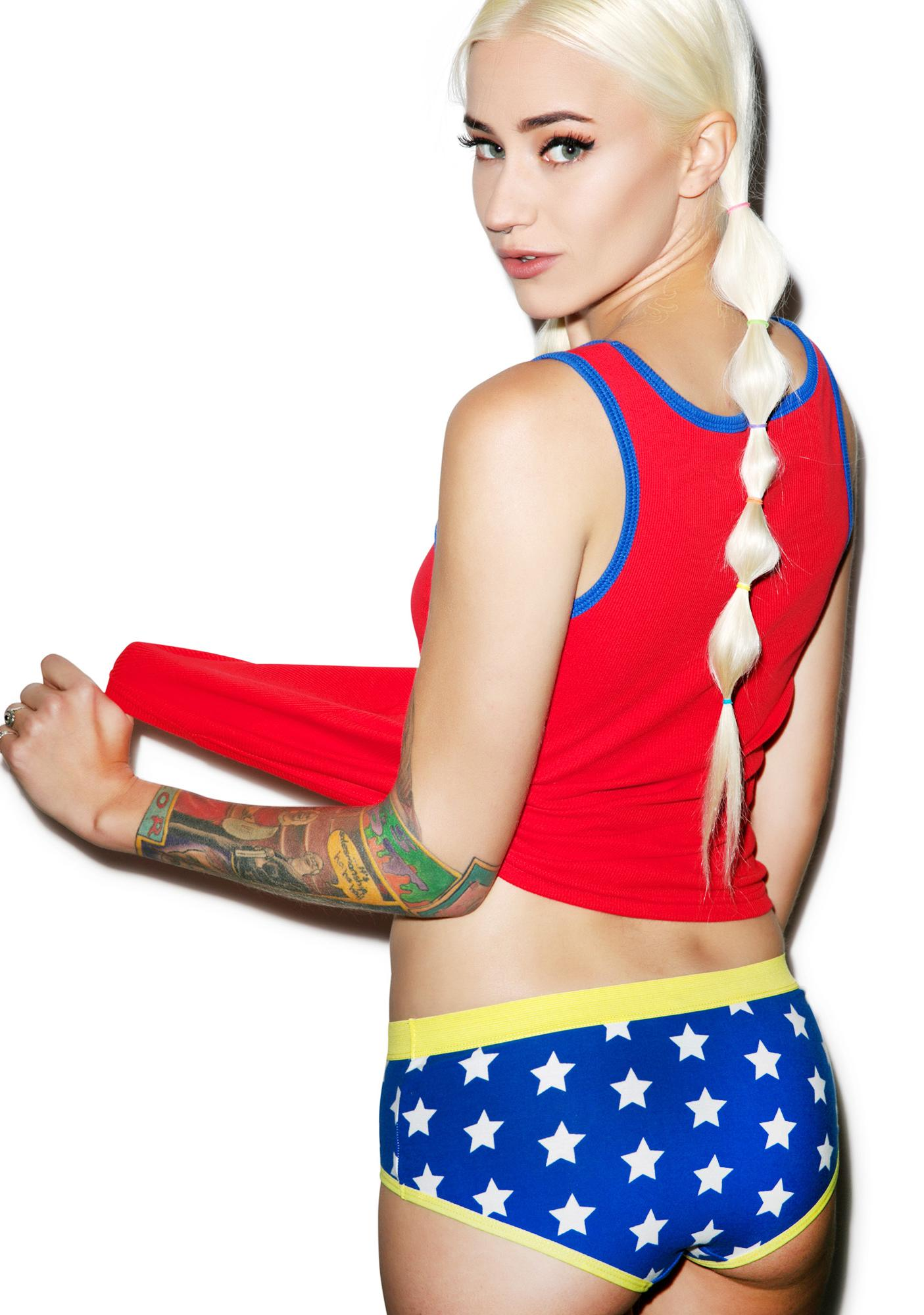 Undergirl Wonder Woman Boy Short Set