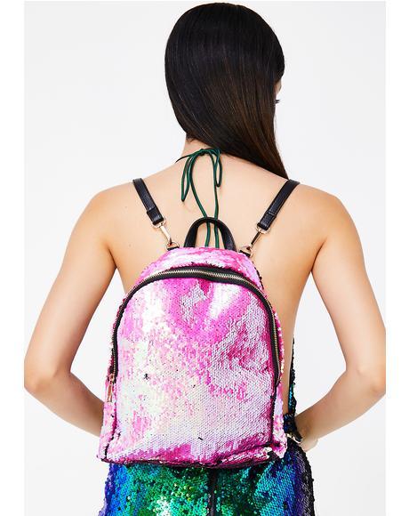 True Gem Sequin Backpack