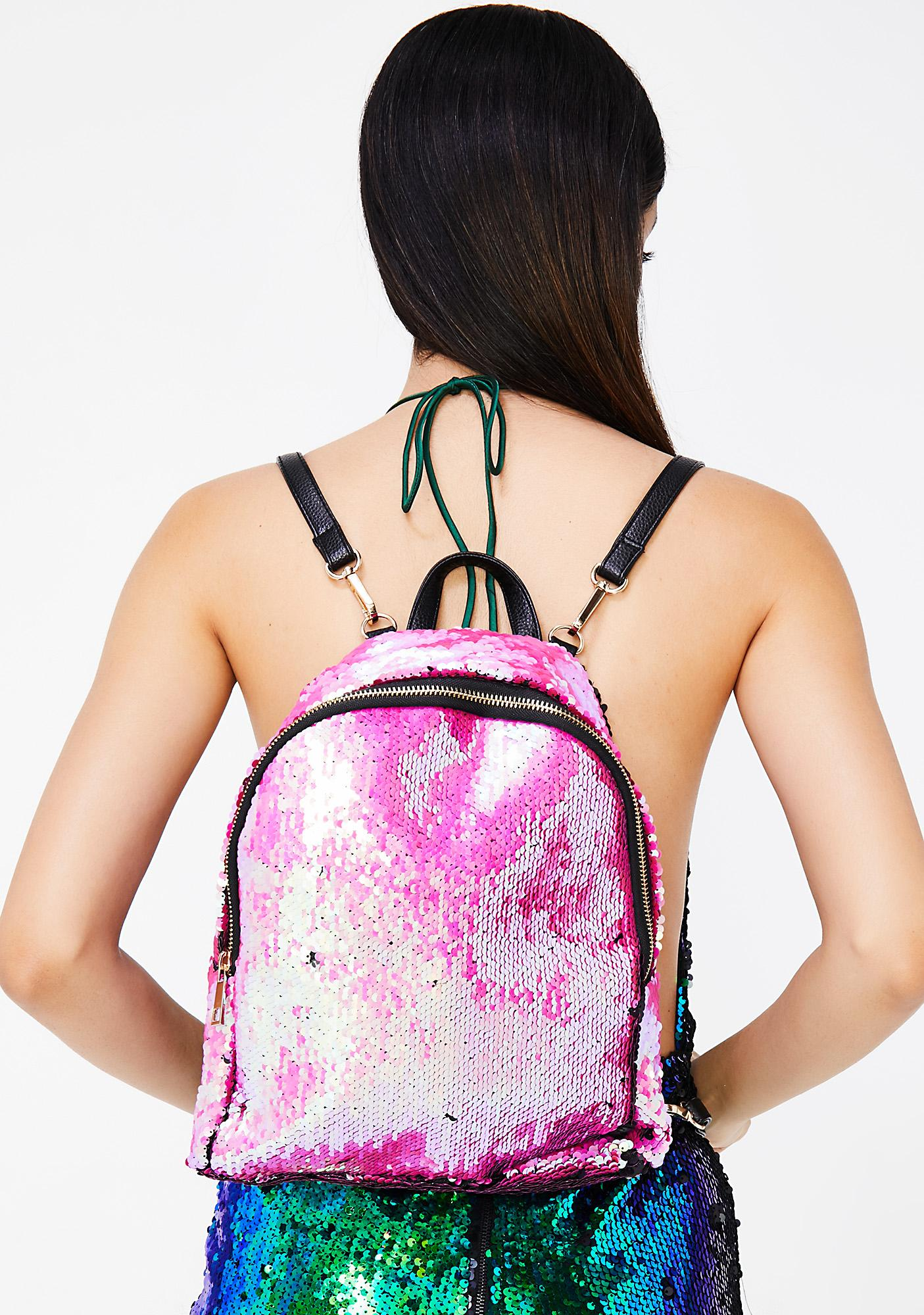 True Gem Sequin Backpack