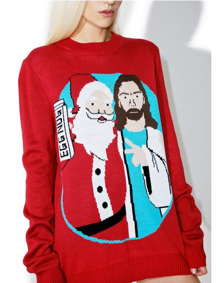 Jingle Bros Sweater