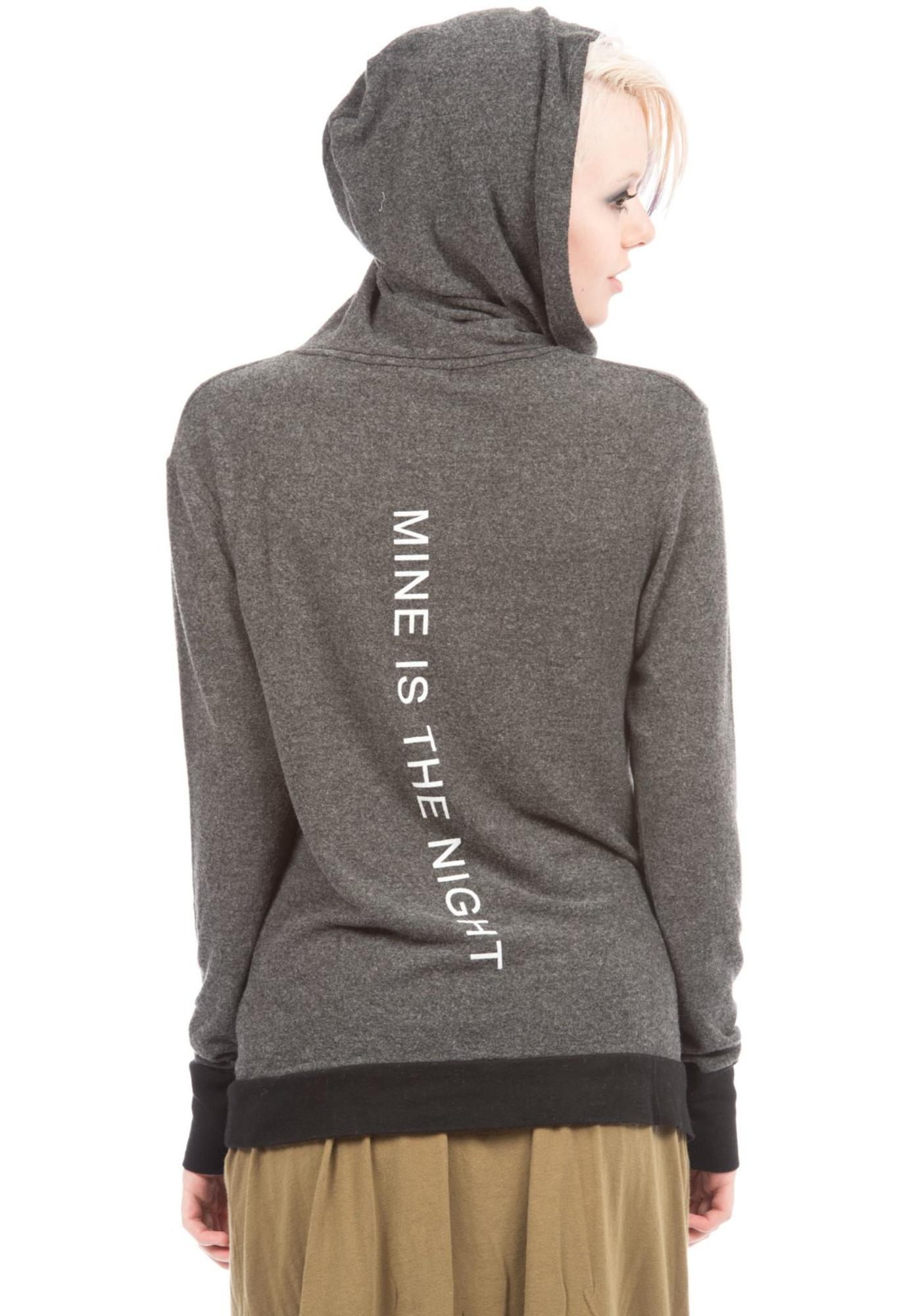 Wildfox Couture Mine Is The Night Gypsy Hoodie