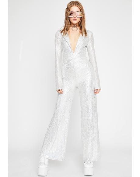 Disco Fever Sequin Jumpsuit