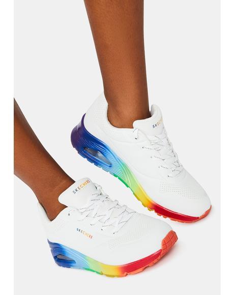 Rainbow Souls Uno Sneakers