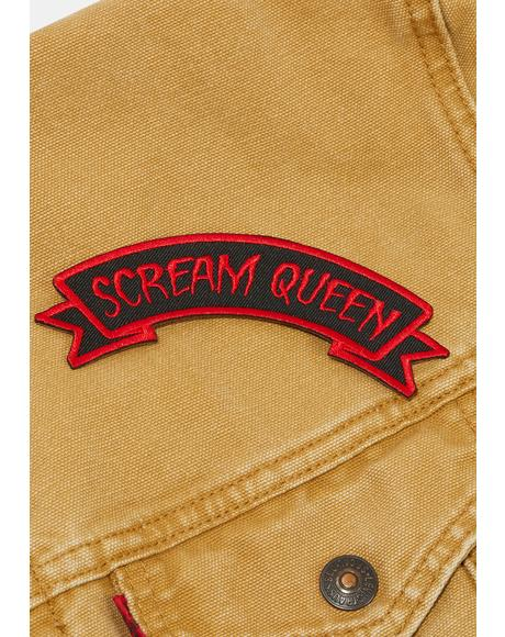 Scream Queen Arch Patch